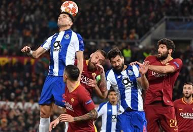 Porto vs AS Roma | Facebook UEFA Champions League.