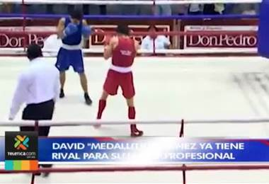 "Boxeador David ""Medallita"" Jiménez ya tiene rival para su debut como profesional"