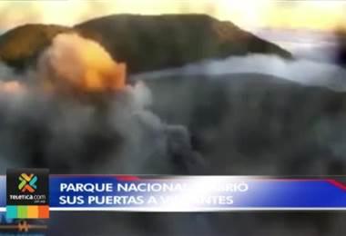 Parque Nacional Volcán Poás se habilitó para visitas de forma controlada