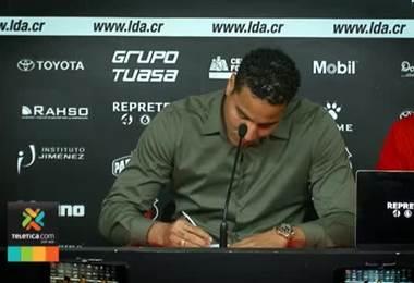 Alvarado tiene 45 días de haber firmado con la liga
