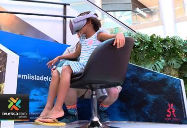 Bellezas de la Isla del Coco serán mostradas en realidad virtual