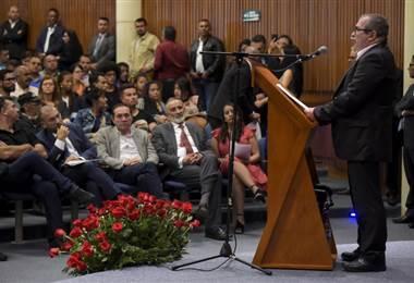 Rodrigo Londoño. Timochenko. Exlíder de las FARC. Colombia. AFP