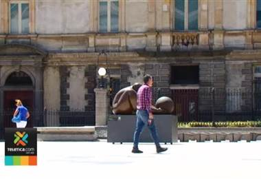Desde ya puede disfrutar de las obras del escultor Jorge Jiménez Deredia en San José