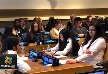 Jóvenes ticas comparten en la ONU conocimientos de la ciencia