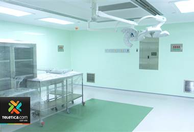 Pacientes del Hospital México contarán con cinco nuevos quirófanos a partir de marzo.