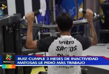 Gustavo Matosas le pedirá horas extras de trabajo a Bryan Ruiz