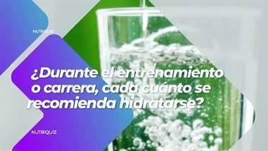 El popular presentador Víctor Carvajal se puso a prueba en el nutriquiz. Víctor tuvo que contestar varias preguntas sobre la nutrición en deportes de alto rendimiento. ¿Cómo le fue? Véalo en el siguiente video.