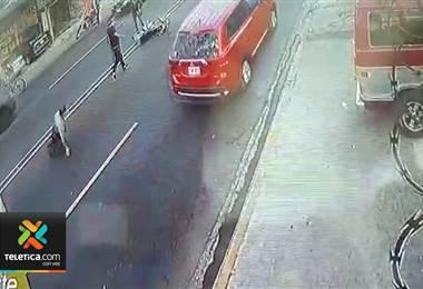 Video muestra atropello y agresión a peatón cerca de la rotonda de la Y Griega