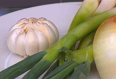 Alimentos que puede provocar sudoración y mal olor