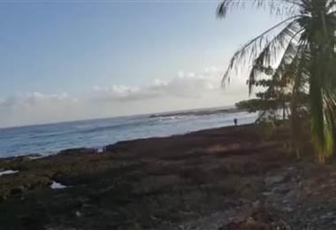 Autoridades encuentran 3.000 litros de combustible en playa Piuta en Limón