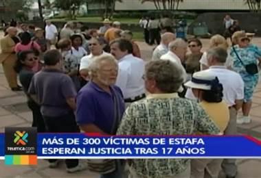 Más de 300 víctimas de estafa esperan justicia tras 17 años
