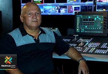 Supervisor de sonido Johnny Garreta se jubila tras 55 años de labor para Teletica