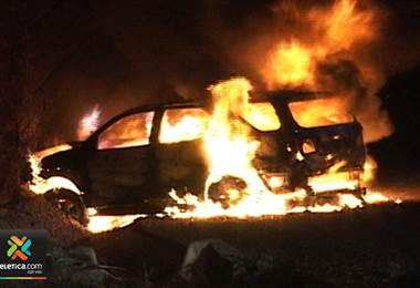Bomberos ya atendió este año 97 incendios en medios de transporte