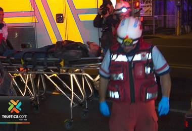 Choque entre vehículo y motocicleta dejó una persona herida en San Francisco de Dos Ríos