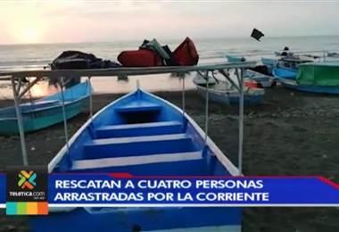 Dos bañistas y un tour-operador rescataron a 4 personas arrastradas por la corriente en Tivives