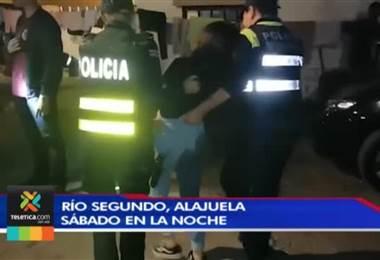 Autoridades clausuran fiesta con menores de edad en Alajuela donde había drogas y licor