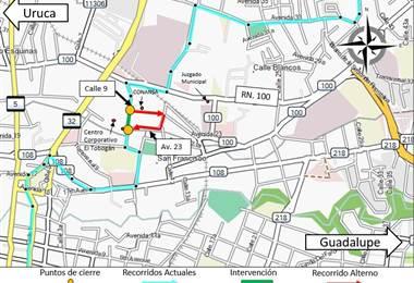 Mapa Calle Blancos