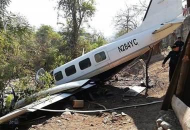 Avioneta en Guatemala