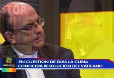 Curia Metropolitana espera resolución del Vaticano en relación al cura denunciado por abuso sexual