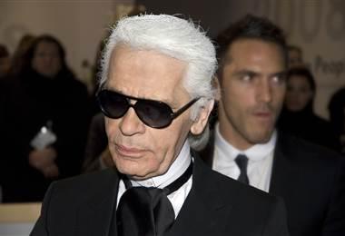 Karl Lagerfeld en el 2008