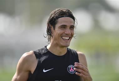 Edinson Cavani, delantero uruguayo del PSG.