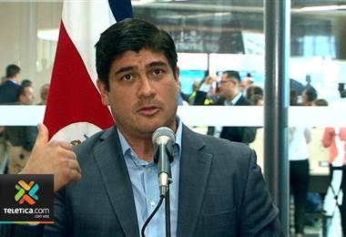 Presidente Carlos Alvarado desmiente que él esté impulsando el aborto libre en el país