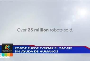 Robot puede cortar el zacate sin ayuda de humanos
