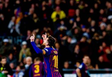 Lionel Messi, capitán del Barcelona.|FC Barcelona en Twitter