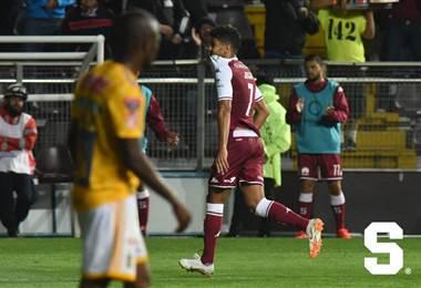 El delantero morado Johan Venegas | Prensa Deportivo Saprissa.