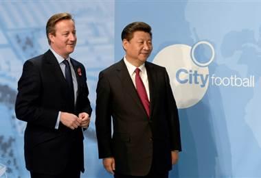 El presidente chino, Xi Jinping, visitó el Manchester City