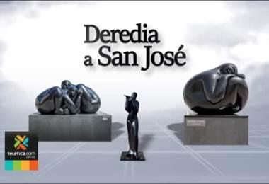 Jiménez Deredia explica algunas de sus 27 obras más significativas