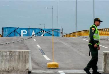 Frontera en Venezuela. BBC