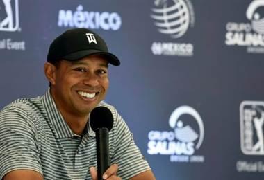 Tiger Woods apunta alto en torneo PGA de México