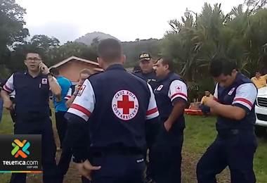 Autoridades hallaron restos de una aeronave en una zona montañosa en Osa