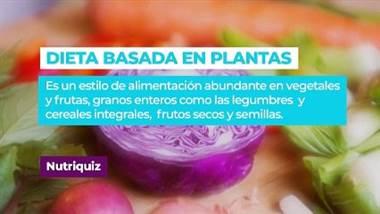 La periodista María Jesus Prada fue la invitada esta semana en el nutriquiz. Ella contestó varias preguntas sobre la dieta basada en plantas. ¿Cómo le fue? Averígüelo en el siguiente video.