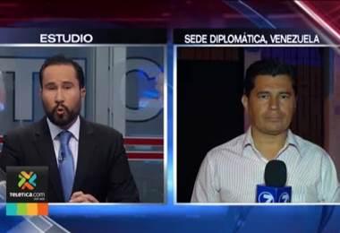 Embajadora designada de Venezuela se disculpó con el Canciller por la toma de la sede diplomática