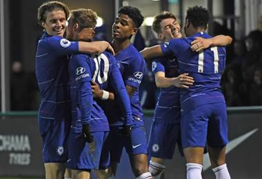 Ligas menores del Chelsea |www.chelseafc.com