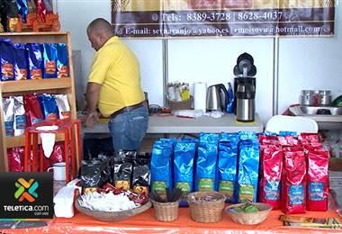 Feria del café en Tarrazú