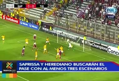 Saprissa y Herediano buscará el pase en Concacaf con tres posibles escenarios