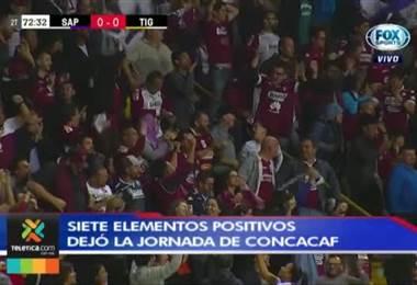 Siete aspectos positivos que dejó la jornada de la Concacaf para Saprissa y Herediano