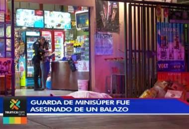 Oficial de seguridad asesinado en asalto era un nicaragüense de 37 años