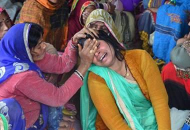 Marcha en India contra el abuso sexual