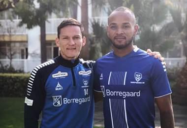 Wilmer Azofeifa y Pablo Arboine seguirán siendo compañeros en Noruega.