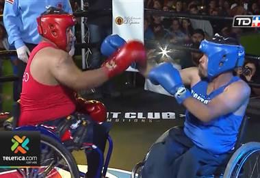 Dos jóvenes en silla de ruedas intentan abrirse campo en el boxeo nacional