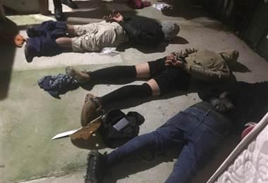 Fuerza Pública detuvo a tres sospechosos de asaltar  vivienda