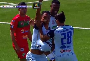 Fútbol Nacional: Carmelita 2 - 4 Pérez Zeledón
