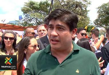 Carlos Alvarado presentó este domingo el Plan Nacional de Descarbonización