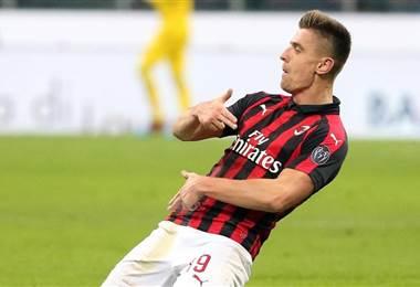 Piatek AC Milan Serie A