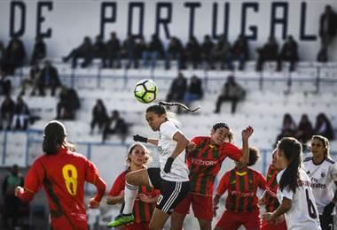 Ana Vitoria del Benfica. AFP