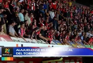 Alajuelense es el peor local del torneo de clausura